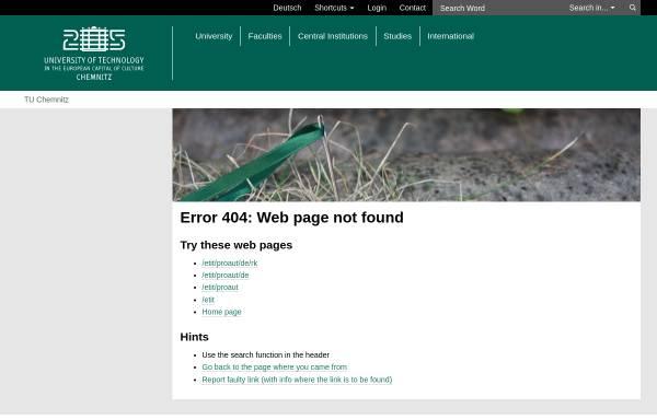 Vorschau von www.tu-chemnitz.de, RoboKing