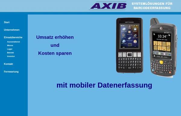 Vorschau von www.axib.de, AXIB