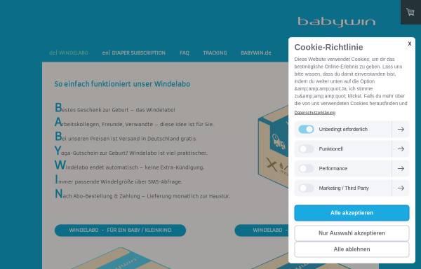 Vorschau von www.babywin.de, Babywin.de - Elena Zaiser