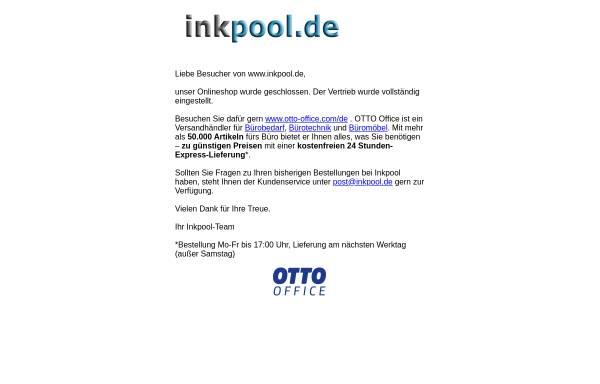 Vorschau von www.inkpool.de, inkpool.de