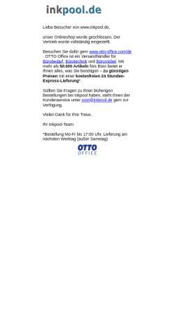 Vorschau der mobilen Webseite www.inkpool.de, inkpool.de