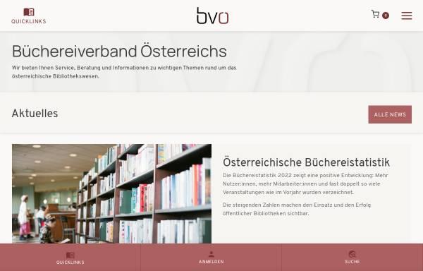 Vorschau von www.bvoe.at, Büchereiverband Österreichs