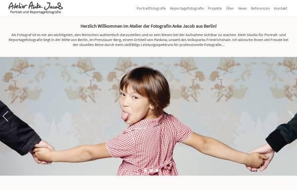Vorschau von www.anke-jacob.de, Atelier Anke Jacob