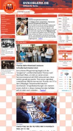 Vorschau der mobilen Webseite www.svkoblenz.de, SV 03/25 Koblenz e.V.