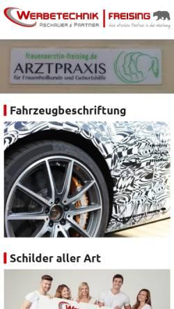 Vorschau der mobilen Webseite www.druckerei-kuttner.de, Druckerei Wolfgang Kuttner