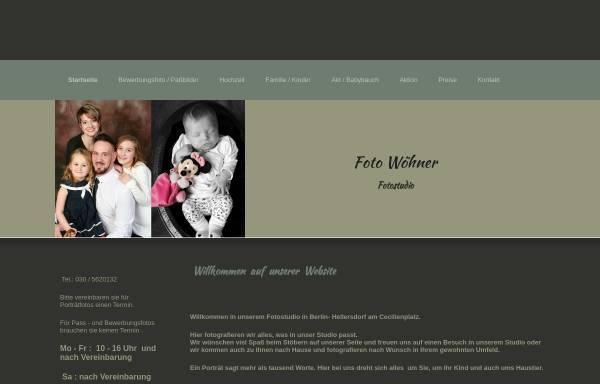 Vorschau von www.foto-woehner.de, Foto Wöhner - Porträtfotograf