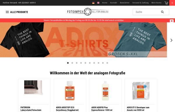 Vorschau von www.fotoimpex.de, Fotoimpex