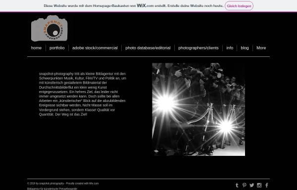 Vorschau von www.snapshot-photography.de, Photography by Snapshot - Tobias Seeliger