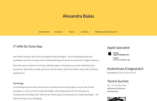 Vorschau von www.webvorhersage.de, Alexandra Bialas