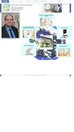 Vorschau der mobilen Webseite www.radiologie-ruhrgebiet.de, Institut für Radiologie, Nuklearmedizin und Radioonkologie