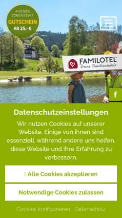 Vorschau der mobilen Webseite www.hotel-krug.de, Hotel Krug