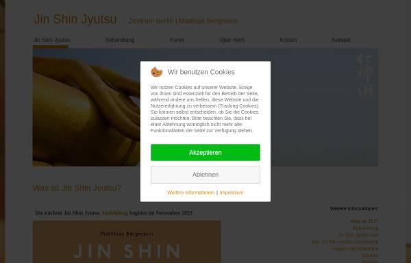 Vorschau von www.jin-shin-jyutsu-berlin.de, Jin Shin Jyutsu Zentrum Berlin