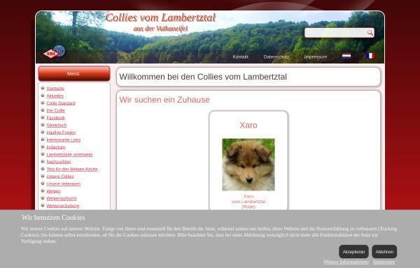 Vorschau von www.colliesvomlambertztal.de, Vom Lambertztal