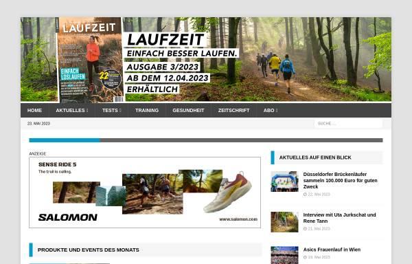 Vorschau von www.laufzeit.de, Laufzeit