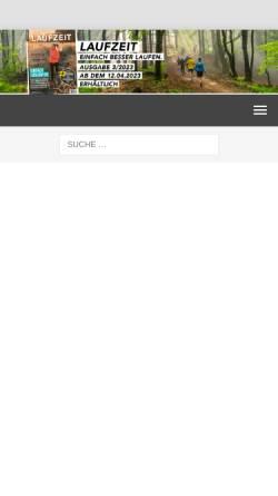 Vorschau der mobilen Webseite www.laufzeit.de, Laufzeit