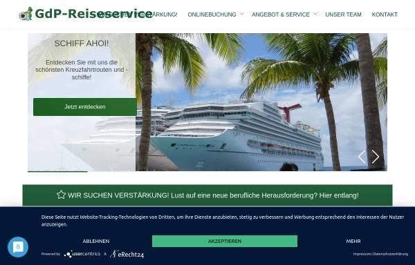 Vorschau von www.gdp-service-nw.de, GdP-Service-GmbH NRW
