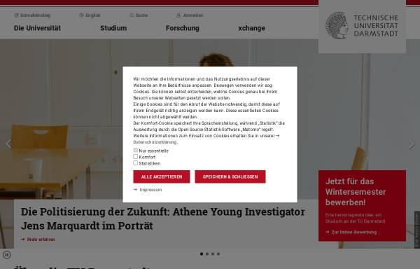 Vorschau von www.iag.tu-darmstadt.de, Institut für Angewandte Geowissenschaften der Technischen Universität Darmstadt