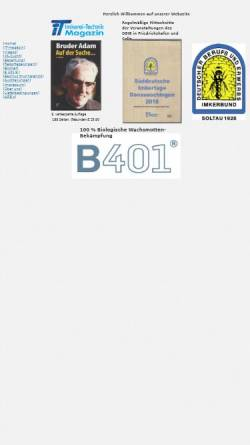 Vorschau der mobilen Webseite www.imkerei-technik.de, Imkerei-Technik