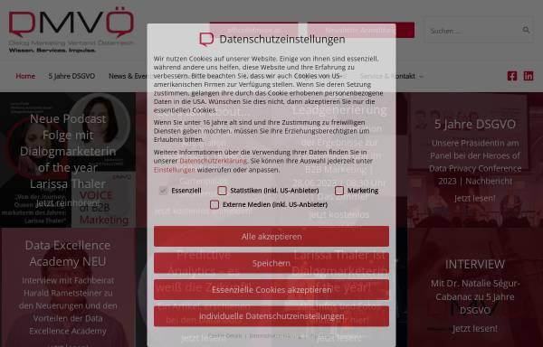 Vorschau von www.dmvoe.at, Direct Marketing Verband Österreich (DMVÖ)