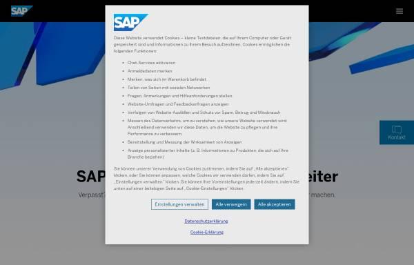 Vorschau von www.sap.de, SAP Deutschland AG & Co. KG