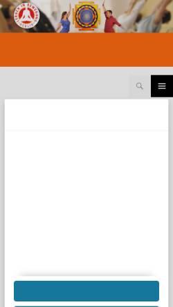 Vorschau der mobilen Webseite www.yoga-berlin.de, Lernen in Bewegung e.V. - Yoga in Charlottenburg