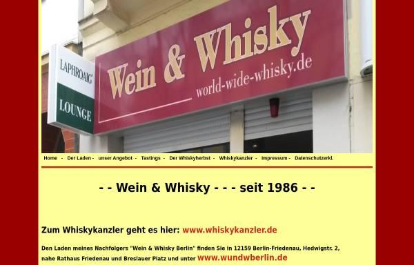 Vorschau von www.world-wide-whisky.de, Werner Hertwig's Wein und Whisky-Shop