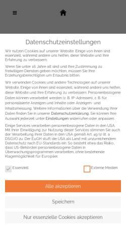 Vorschau der mobilen Webseite www.company-fashion.de, Company-Fashion Gabriele Belz