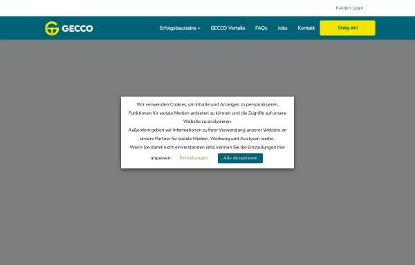 Vorschau von www.geccomedia.de, Gecco Media GmbH