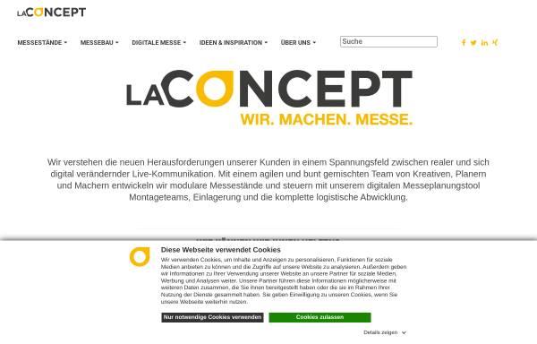 Vorschau von www.la-concept.de, La Concept GmbH