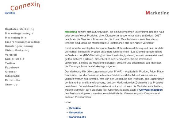 Vorschau von wemarcon.de, WMC Wendeler Marketing Consulting