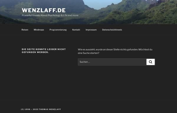 Vorschau von www.wenzlaff.de, Java Weltzeit Applet Freeware