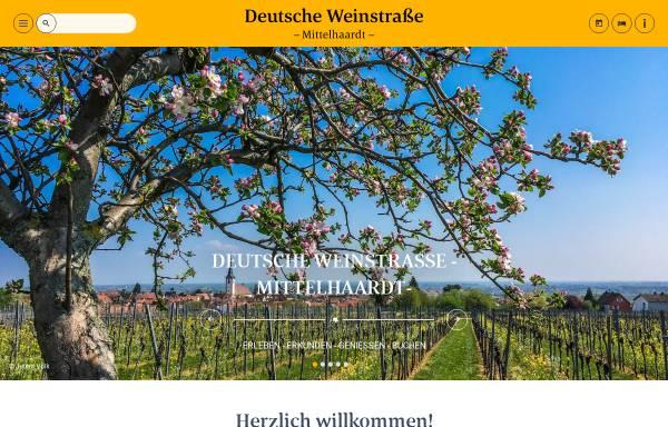 Vorschau von www.deutsche-weinstrasse.de, Deutsche Weinstrasse e.V.
