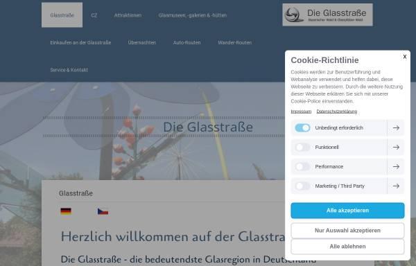 Vorschau von www.die-glasstrasse.de, Glasstrasse