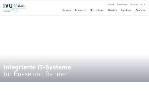 Vorschau von www.ivu.de, IVU Traffic Technologies AG