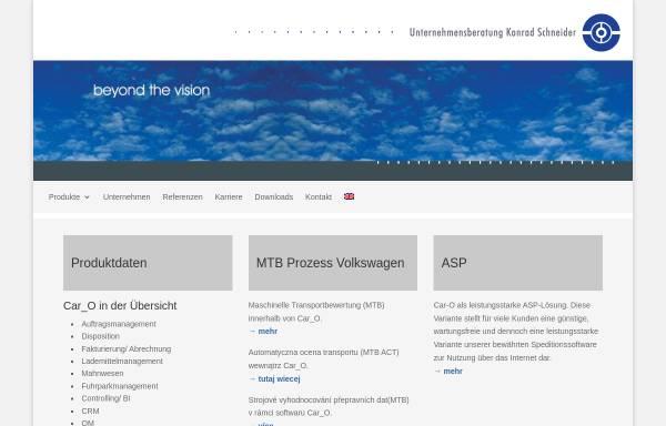 Vorschau von www.uks-software.de, Unternehmensberatung Konrad Schneider GmbH