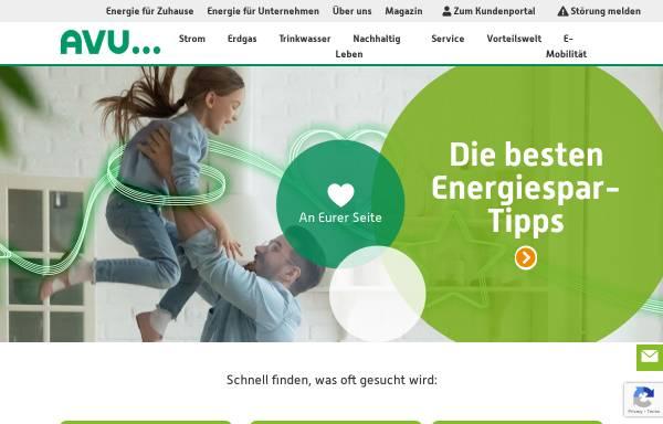 Vorschau von www.avu.de, AVU Aktiengesellschaft für Versorgungs-Unternehmen