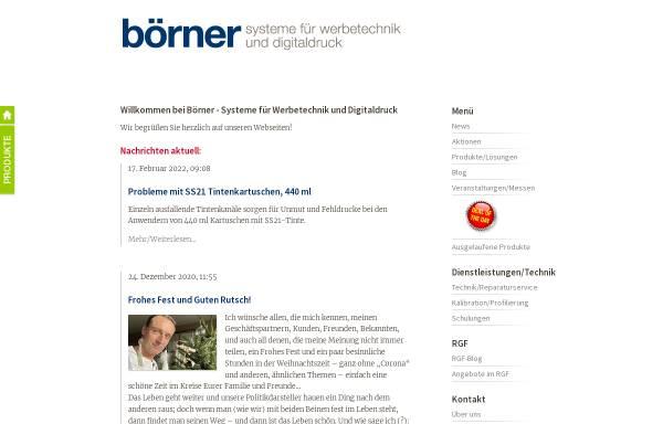 Vorschau von www.schneideplotter.de, Börner EDV-Beratung