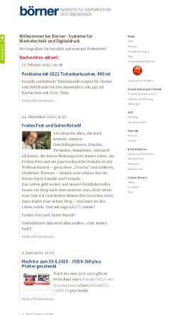 Vorschau der mobilen Webseite www.schneideplotter.de, Börner EDV-Beratung