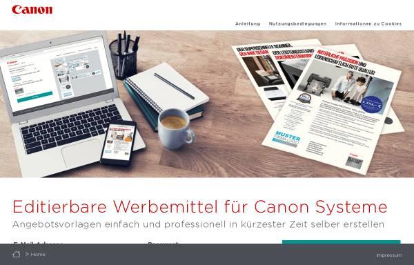 Vorschau von www.canon.de, Canon Deutschland GmbH