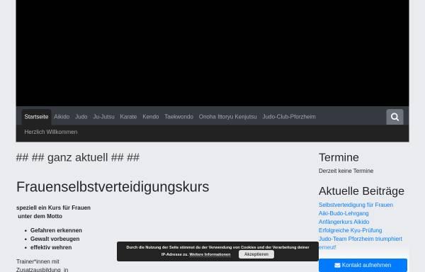 Vorschau von www.judo-club-pforzheim.de, JC Pforzheim