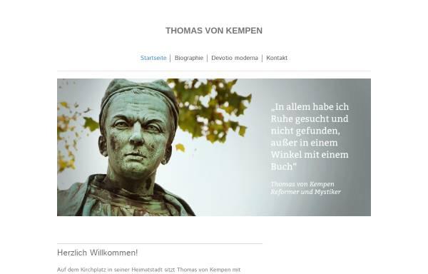 Vorschau von www.thomas-von-kempen.de, Thomas von Kempen