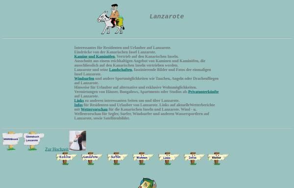Vorschau von www.lanzarote-thomas.de, Reiseführer für Lanzarote