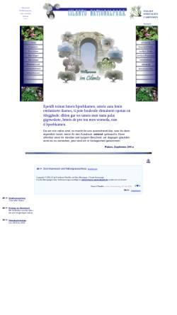 Vorschau der mobilen Webseite www.cilento-nationalpark.de, Cilento Nationalpark