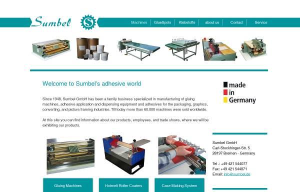 Vorschau von www.sumbel.de, Sumbel GmbH