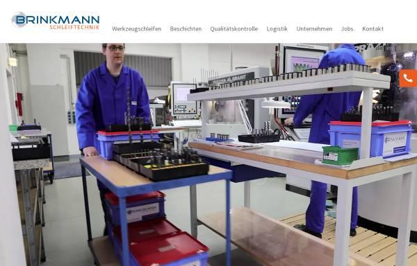 Vorschau von www.brinkmann-schleiftechnik.de, Brinkmann-Schleiftechnik GmbH & Co. KG