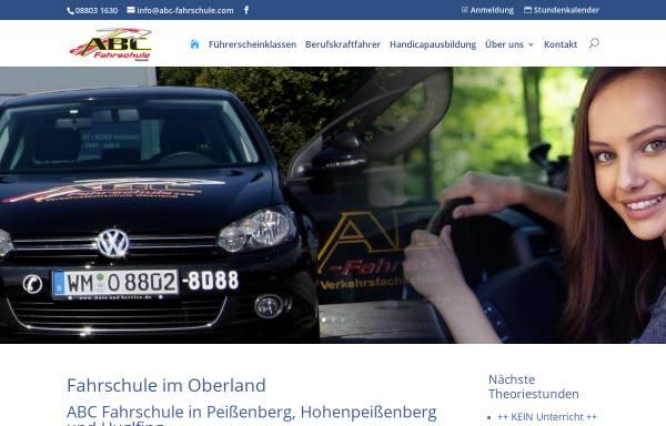 Vorschau von www.abc-fahrschule.com, ABC Fahrschule Huber & Hohenadel GbR
