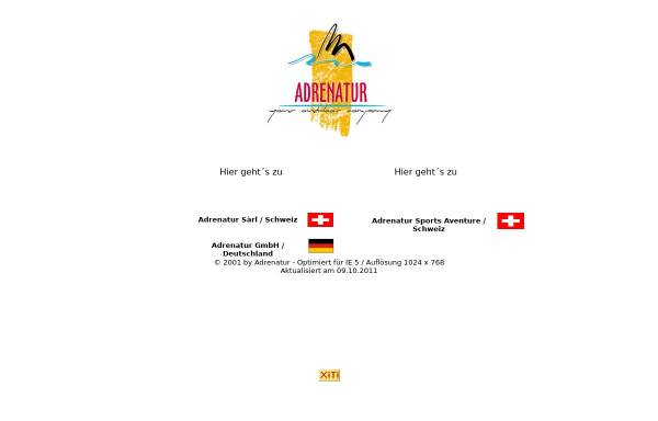 Vorschau von www.adrenatur.com, Adrenatur GmbH