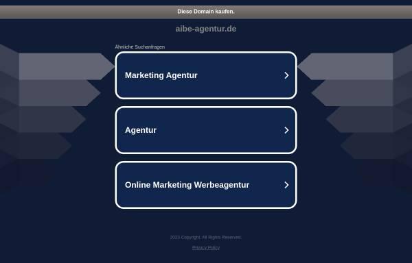 Vorschau von www.aibe-agentur.de, AiBE ver-rückte Konzepte