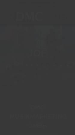 Vorschau der mobilen Webseite www.dmc-music.de, DMC Musikmarketing