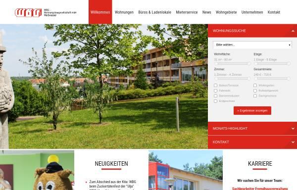 Vorschau von www.wbg-weisswasser.de, WBG-Wohnungsbaugesellschaft mbH Weißwasser